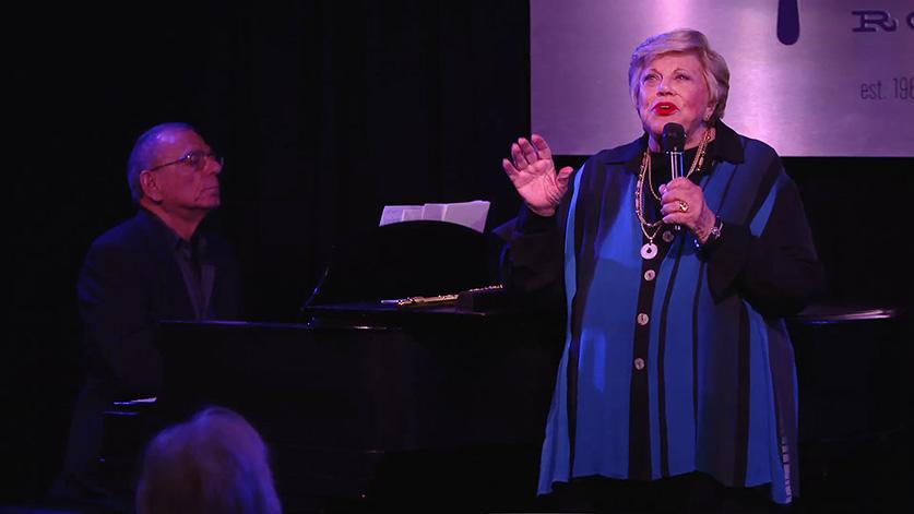 Kaye Ballard night club performance